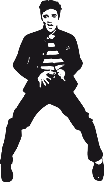 Elvis Presley Dancing .-Elvis Presley Dancing .-11