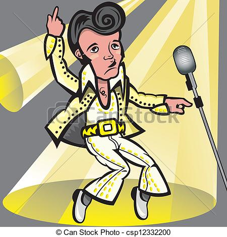 ... Elvis Presley - This Illustration Re-... Elvis Presley - This illustration represents the singer.-15