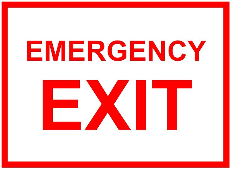 Emergency Exit Clipart; Emergency Exit S-Emergency exit clipart; Emergency Exit Signs Clipart - Free to use Clip Art Resource ...-1