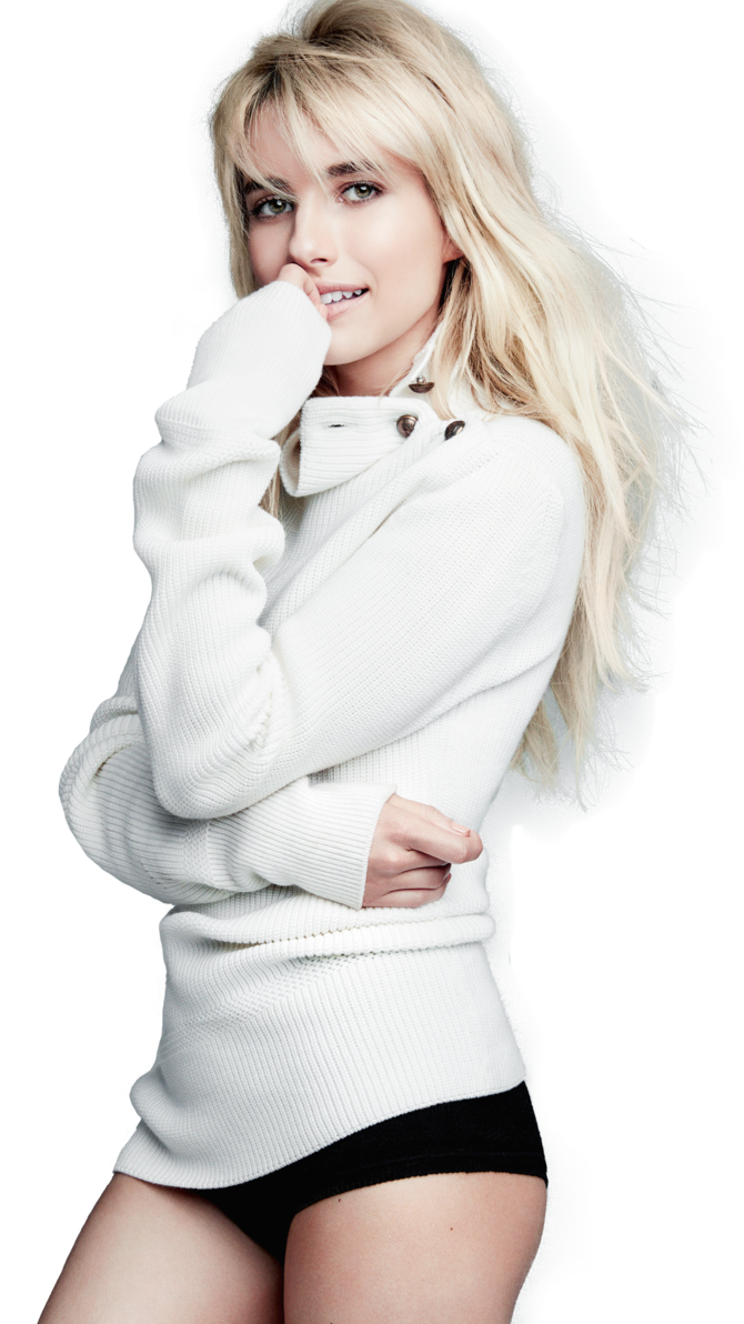 Download PNG image - Emma Roberts Clipart 300