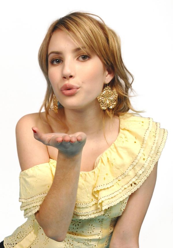 Emma Roberts Transparent PNG Sticker. Transparent PNG Sticker