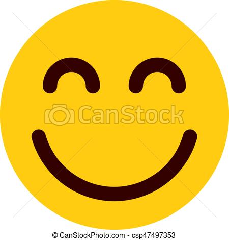 happy emoji - csp47497353