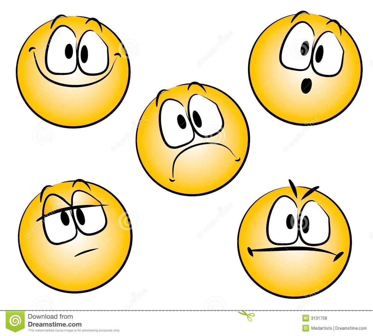 Emoticons Smileys Clip Art Royalty Free -Emoticons Smileys Clip Art Royalty Free Stock Photos Image 3131758-2