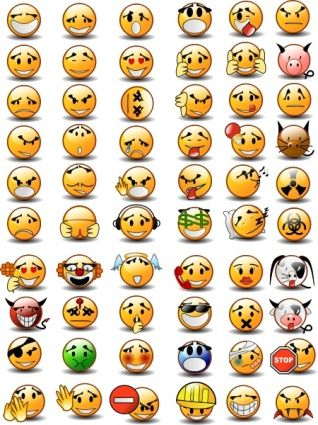 Emotion Faces Clip Art | Be Happy Clip A-Emotion Faces Clip Art | Be Happy clip art - Download free Other vectors -  repinned by @PediaStaff u2013 Please Visit ht.ly/63sNt for all our ped theru2026-4