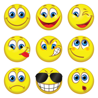Emotion Faces Clip Art - Emotion Faces Clip Art