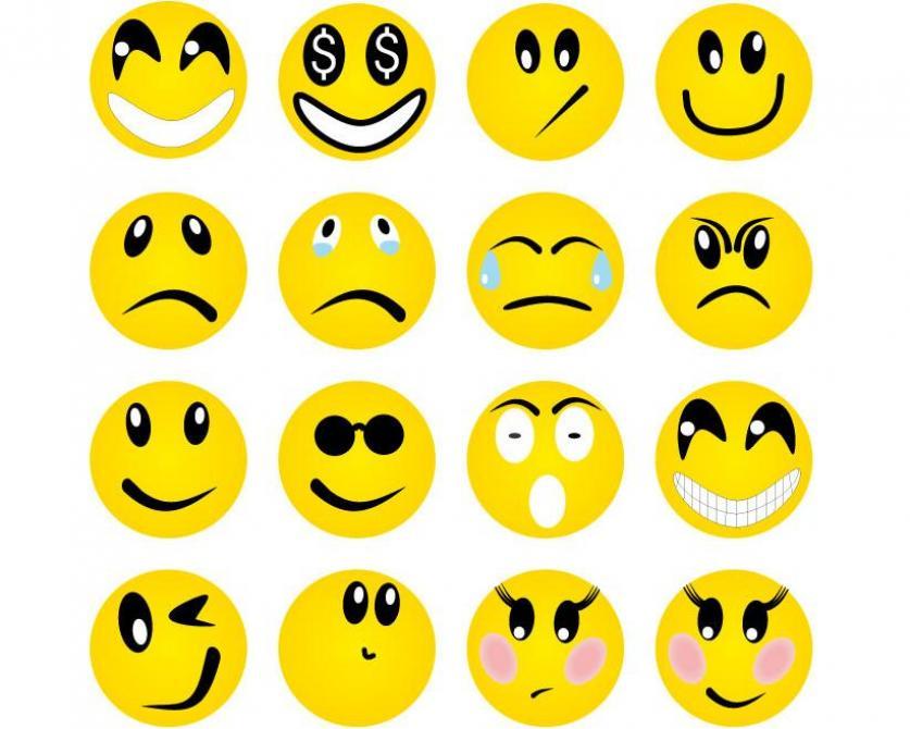 Emotion Faces Clipart Best
