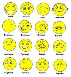 Clip arts emotion. Art clipartlook