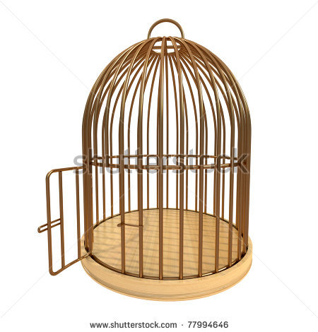 Empty Cage Clipart #1-Empty Cage Clipart #1-6