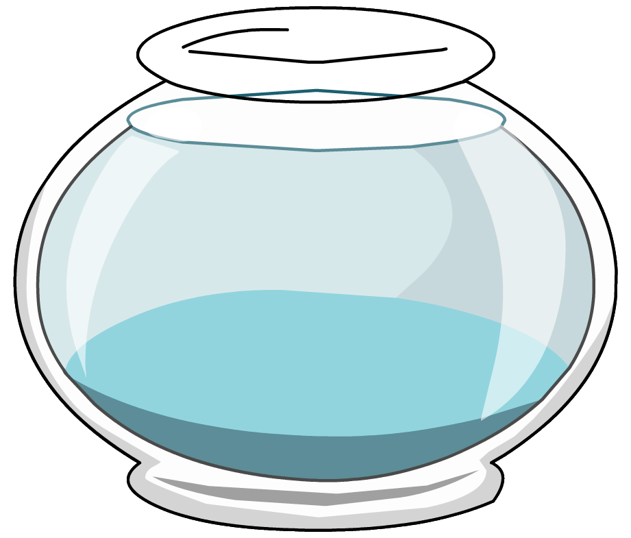 Empty Fish Bowl Coloring Page Clipart Be-Empty Fish Bowl Coloring Page Clipart Best-5