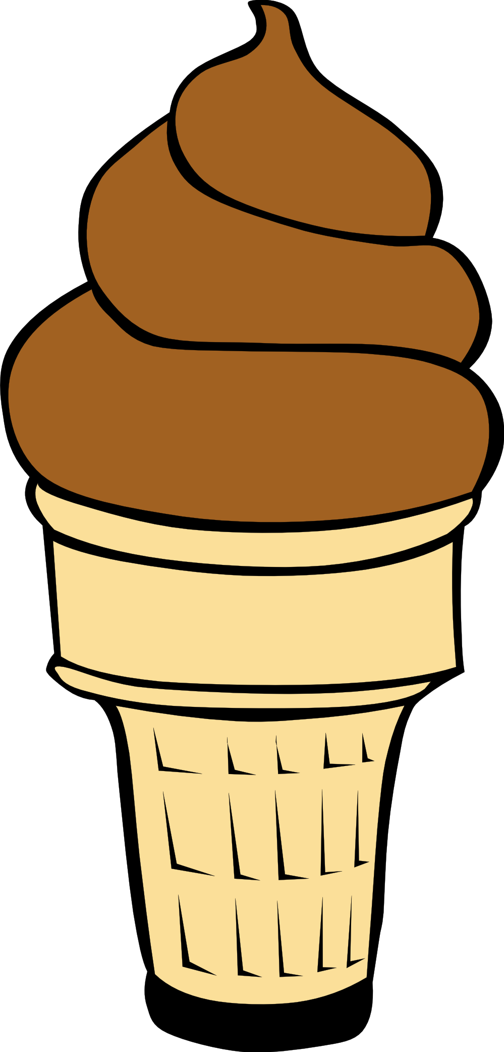 Empty Ice Cream Cone Clipart | Clipart library - Free Clipart Images