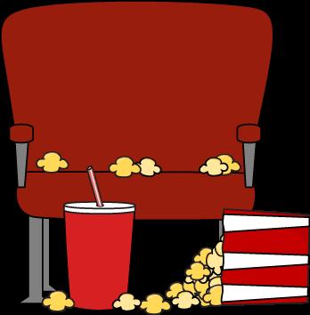 Empty Movie Theater Seat