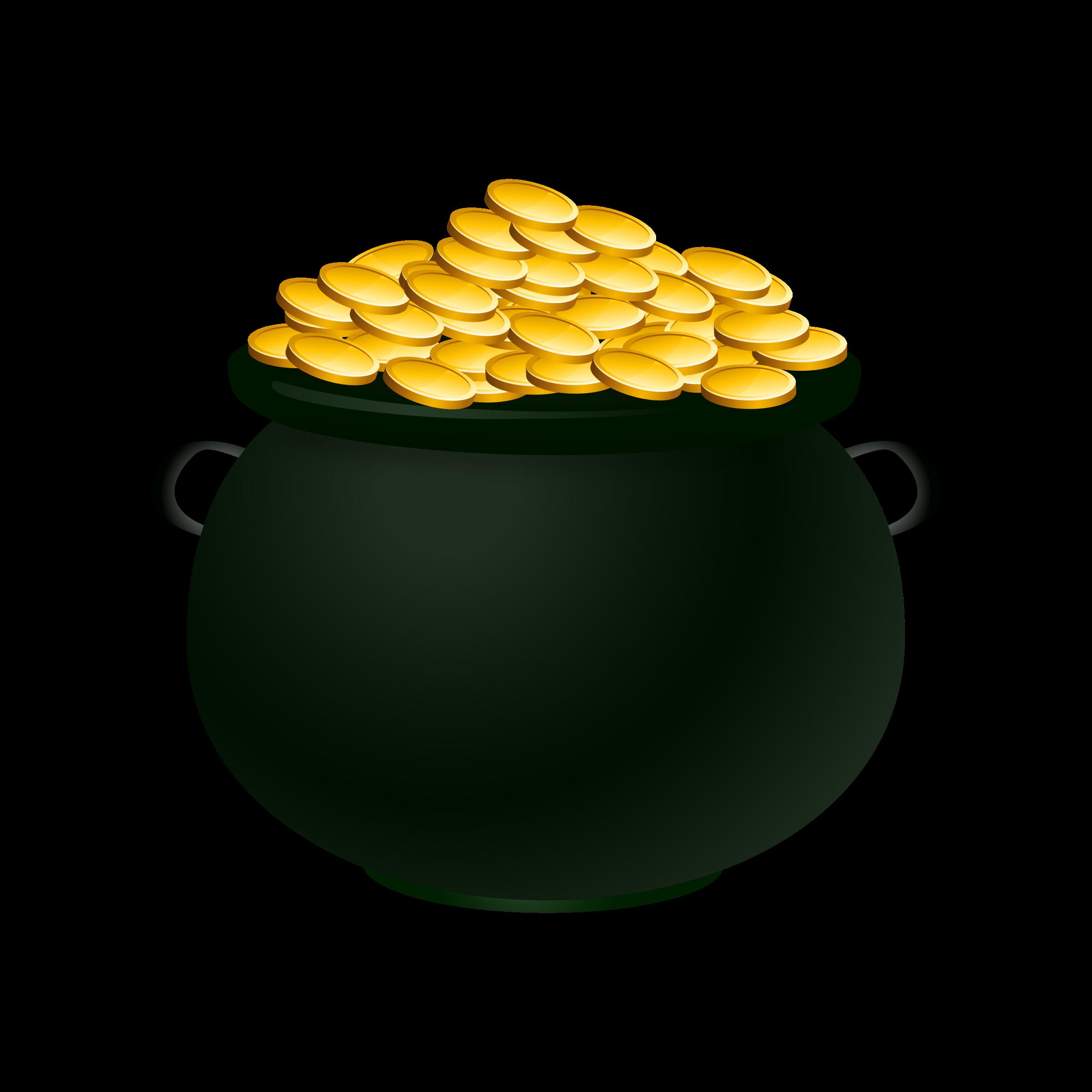 Pot Of Gold Clip Art