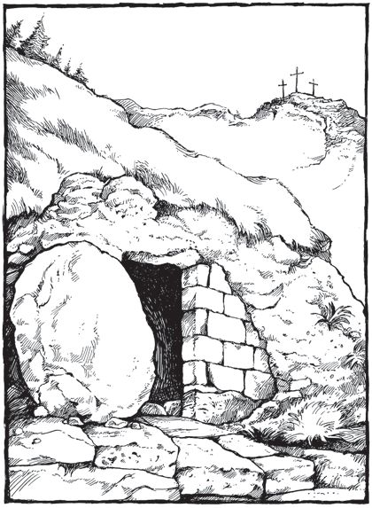 Empty Tomb Clip Art Empty Tomb