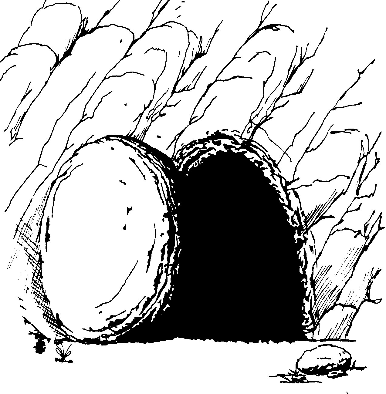 ... Empty Tomb Clipart ...