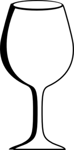 Empty Wine Glass Clip Art