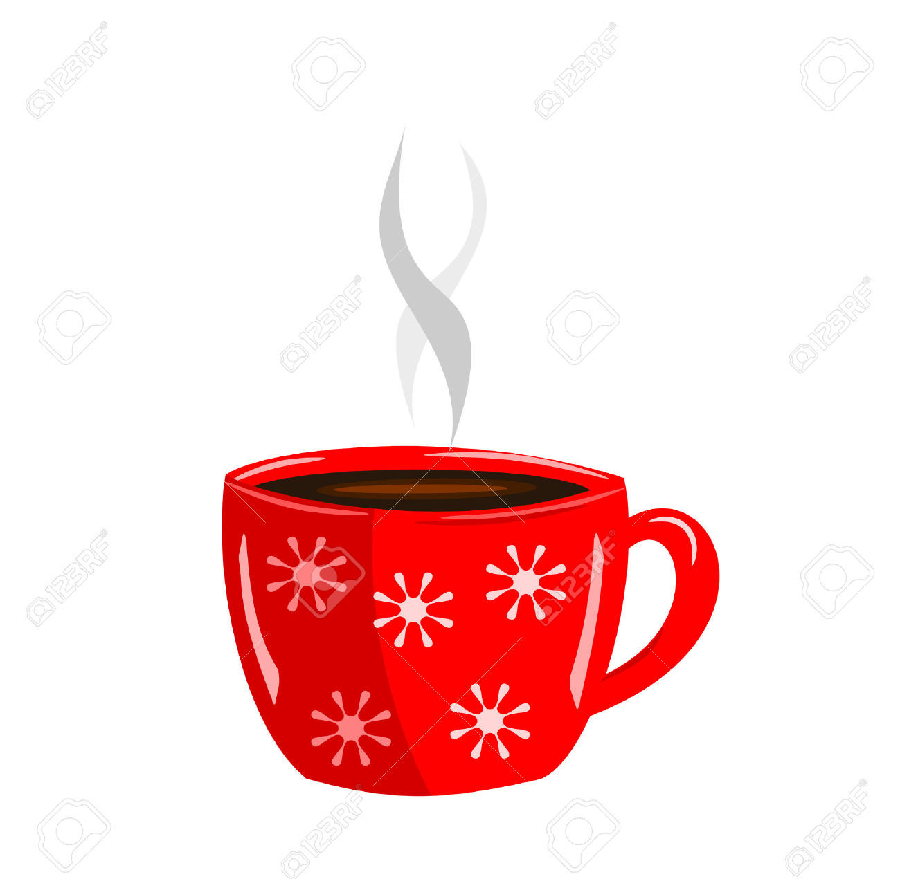 Energizing Red Cup Of Hot .-Energizing red cup of hot .-7