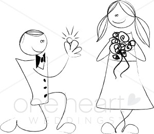 Engagement Clip Art