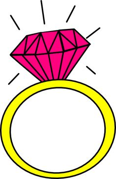 Engagement ring cartoon clip art 9 engagement rings