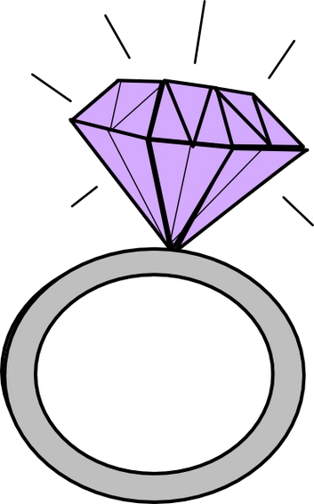 engagement ring clipart. Engagement