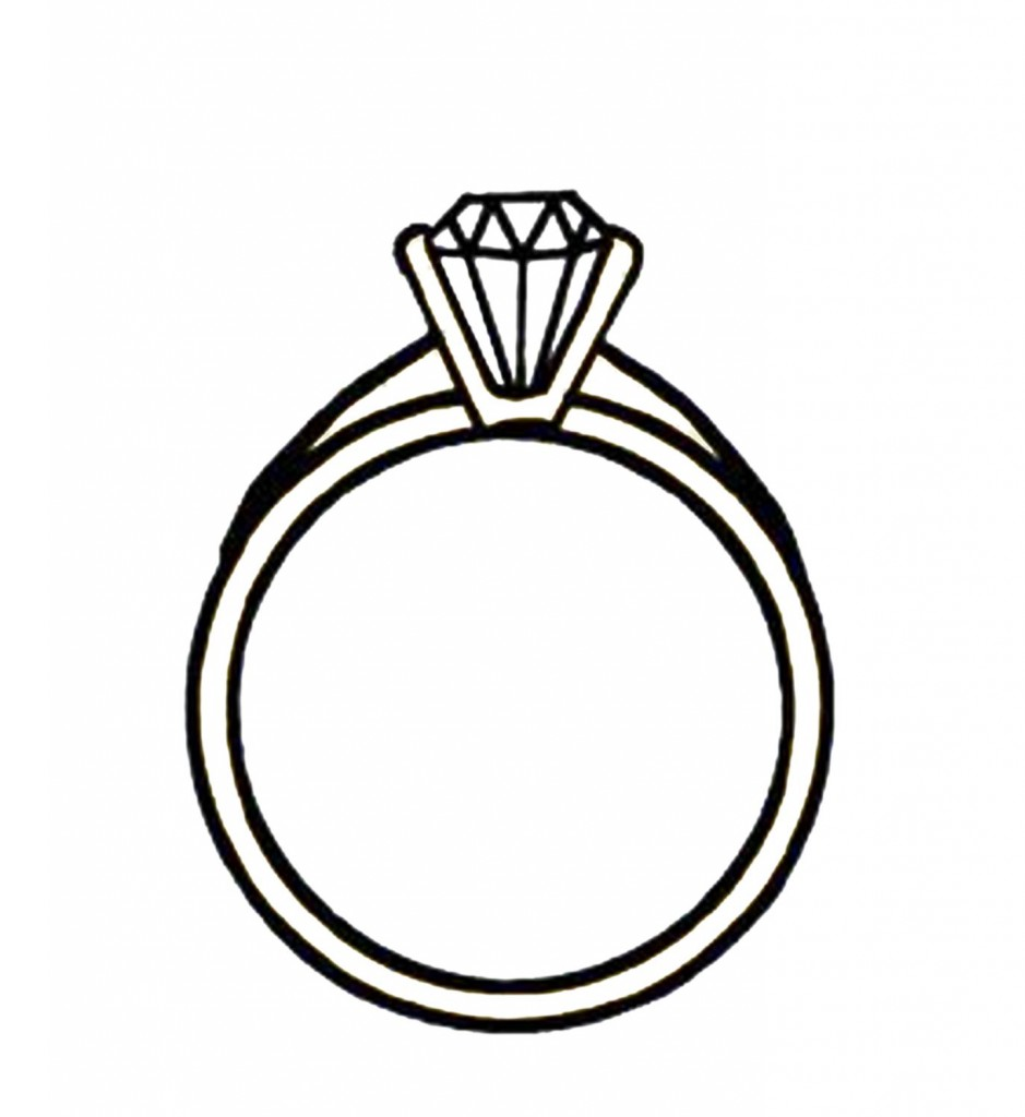 Engagement Rings Clip Art 5