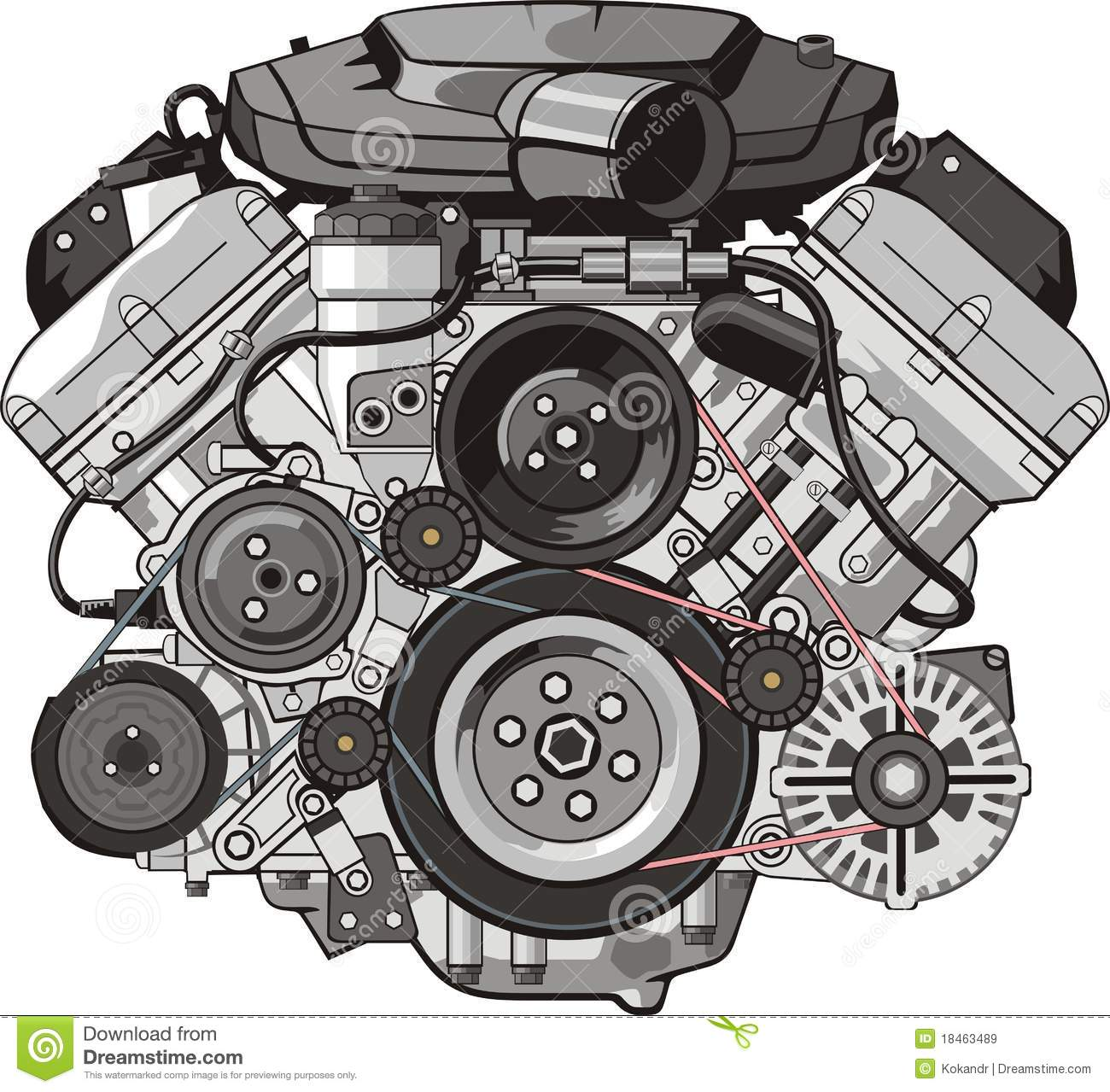 Engine Front Royalty Free Stock Images I-Engine Front Royalty Free Stock Images Image 18463489-5