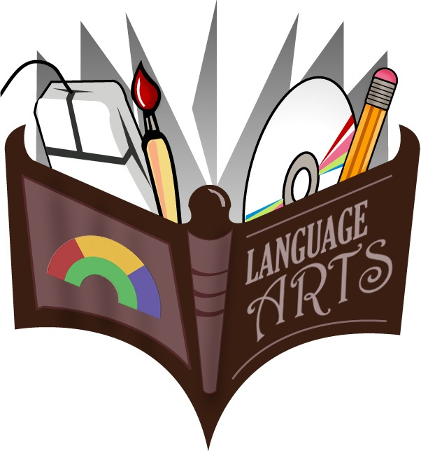 English Language Arts Ela Jpg - Language Arts Clipart