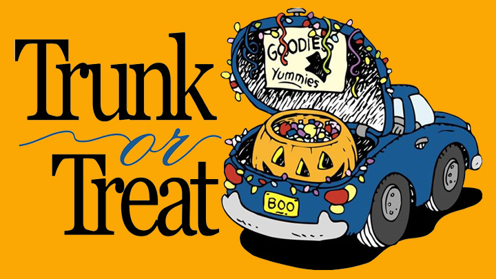 Enjoy Trunk Or Treat Fun With - Trunk Or Treat Clip Art