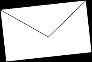 Envelope Clipart Black And White Free Im-Envelope clipart black and white free images 5-12