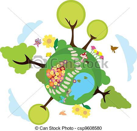 ... environment earth background to be used for greenery,... ...