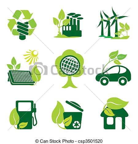 ... environment - set of vector icons of environment protection... ...