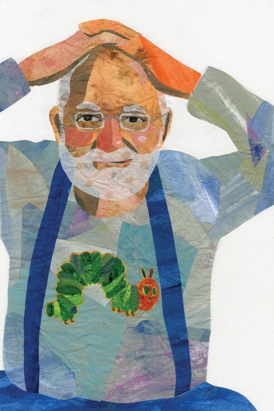 Eric Carle Clip Art | Eric Carle Portrait by cutsiebuttons33 on deviantART