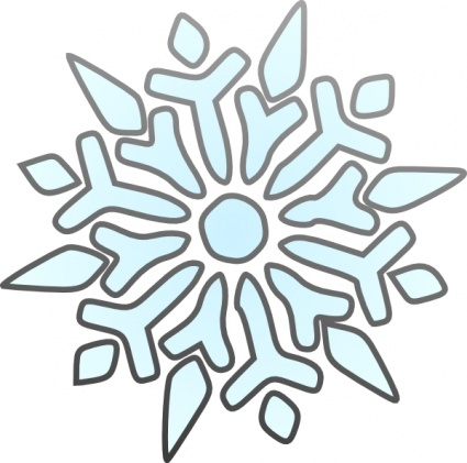 Erik Single Snowflake clip art - Download free Christmas vectors
