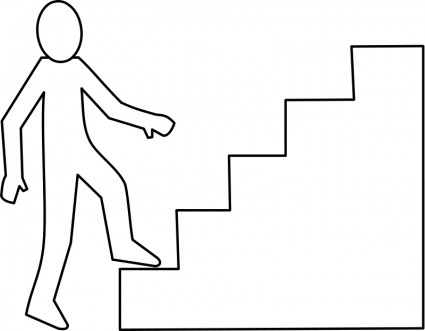 Escalier Staircase Free Vecto - Clip Art Stairs