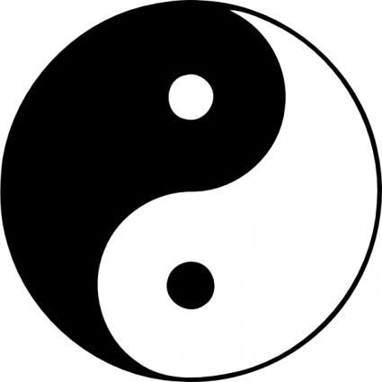 Esoteric Taijitu clip art - Download free Other vectors. Religious symbols clip ...