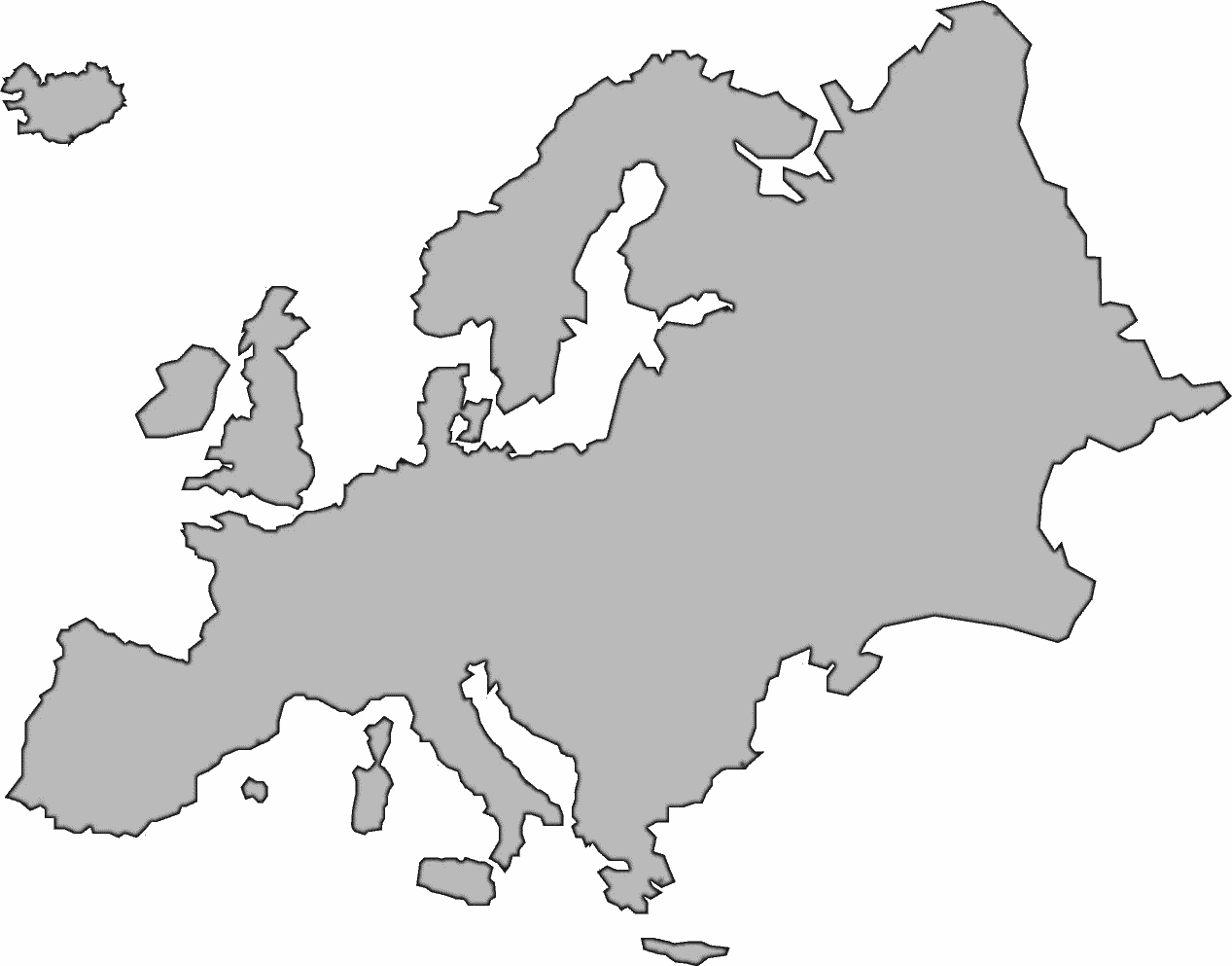 Europe cliparts