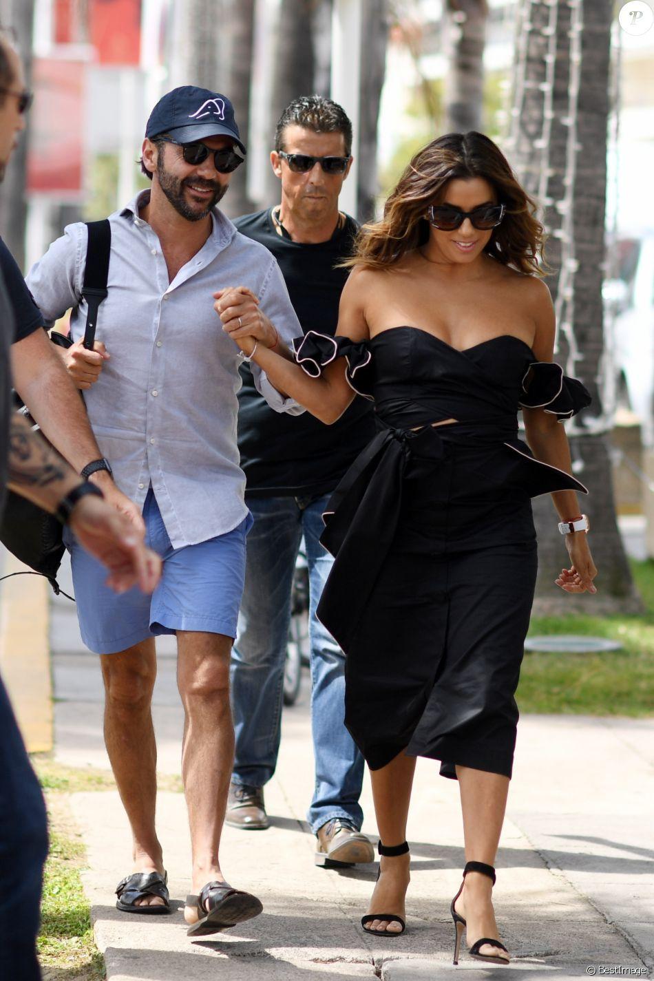 Eva Longoria et son mari José Antonio Baston lors du 70ème Festival  International du Film de