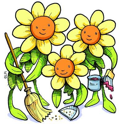 72 Spring Cleaning Clip Art