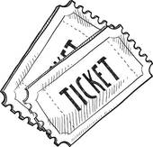 Event excitement ticket sketch u0026middot; Event ticket sketch