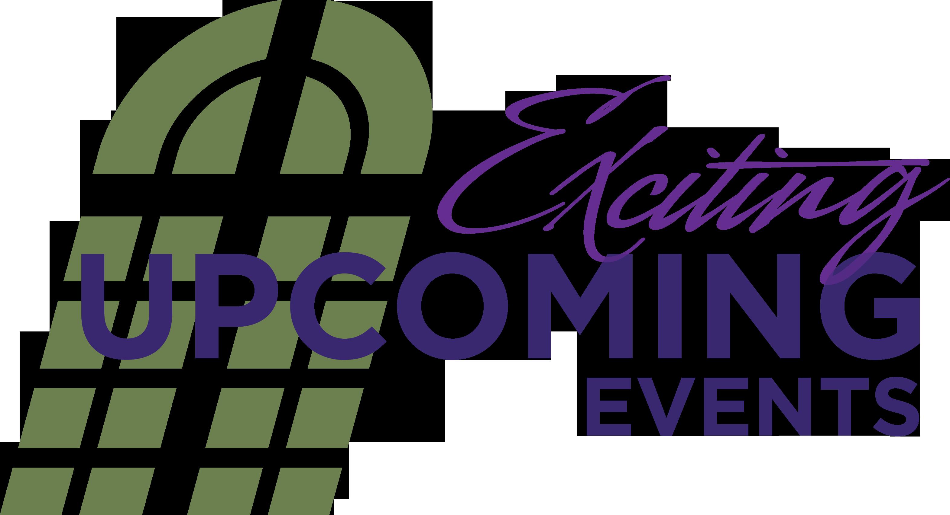 Events Clip Art - Upcoming Events Clip Art