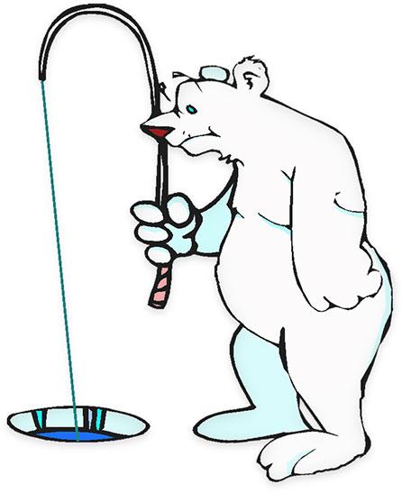 Ever Wonder How Polar Bears Catch Fish B-Ever wonder how polar bears catch fish below the ice? Now you know.-5