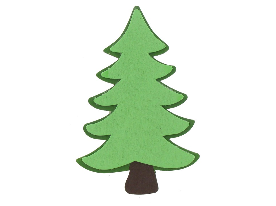Evergreen Tree Painted Shape Shop Hobby Lobby
