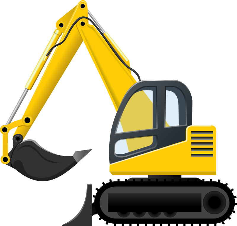 Excavator Clip Art Images Free For Comme-Excavator Clip Art Images Free For Commercial Use-9