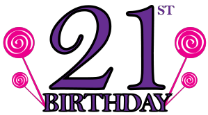 Birt 21st Birthday Clip Art