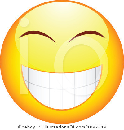 Excited Face Clip Art Oliva Y Pan Rallado
