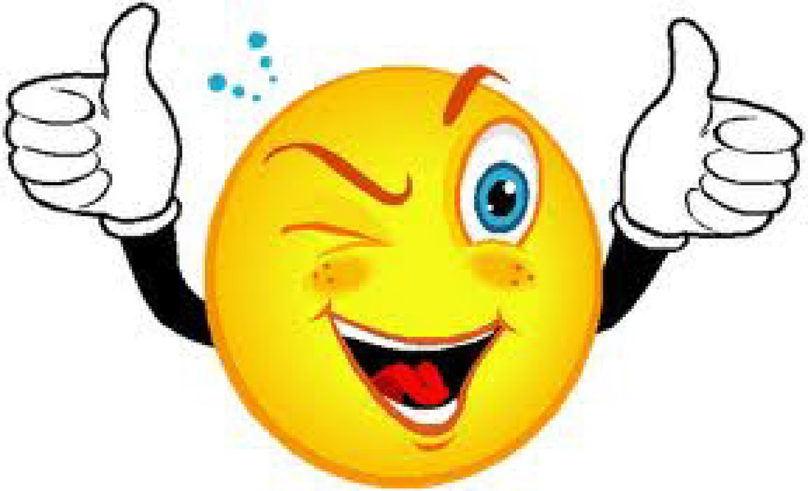 Excited Face Clipart #1