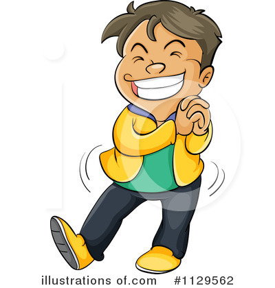 Excited Kids Clip Art Royalty Free Rf Boy Clipart