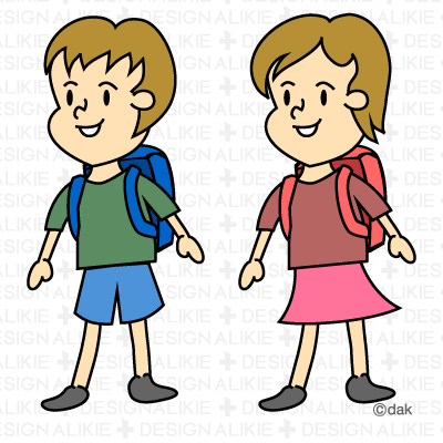 excursion clipart - School Children Clipart