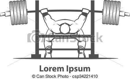 Bench Press Powerlifting - Csp34221410-bench press powerlifting - csp34221410-4