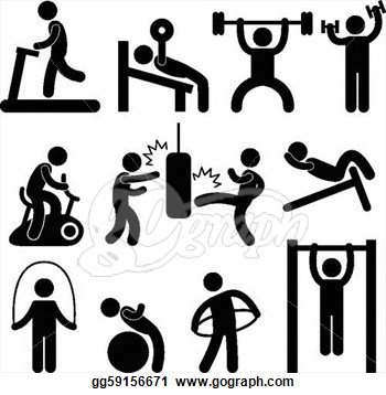 ... Exercise Clip Art ...