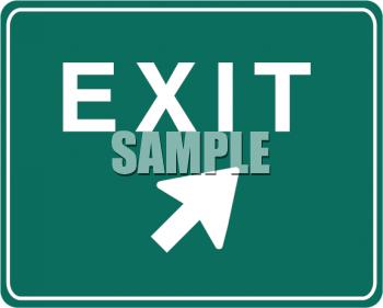 Exit Clipart-Clipartlook.com-350